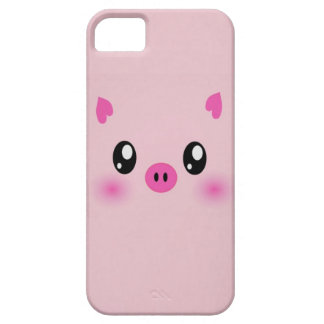 the cute pink pig case iphone iPhone 5 case