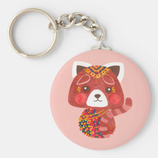 The Cute Red Panda Keychain