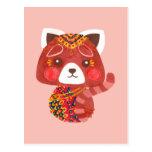 The Cute Red Panda Postcard