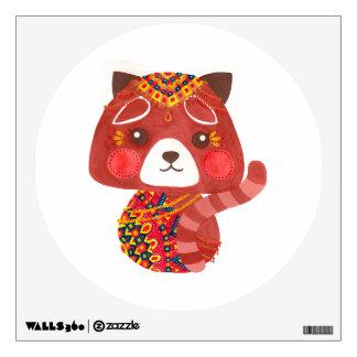 The Cute Red Panda Wall Sticker