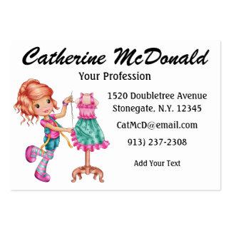 The Cute Seamstress Version 2 - SRF Business Card