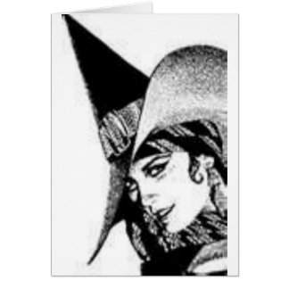 The Cute Witch Card