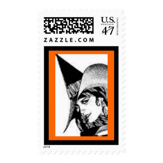 The Cute Witch Postage