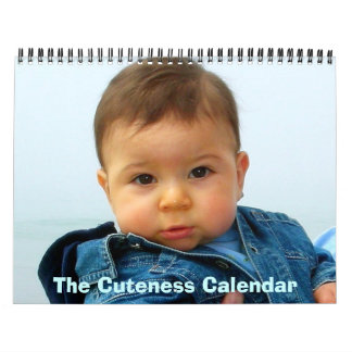 The Cuteness Calendar