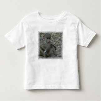 The Cutest Baby Baboon Toddler T-shirt