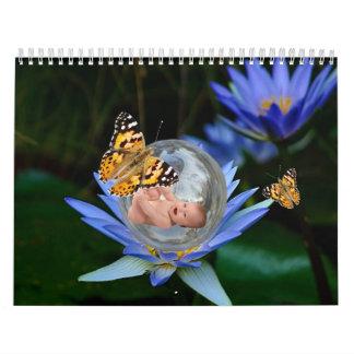 The cutest baby fantasy 2012 wall calendars