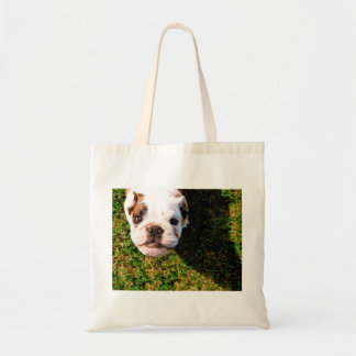 The cutest Bulldog ever!!! Tote Bag