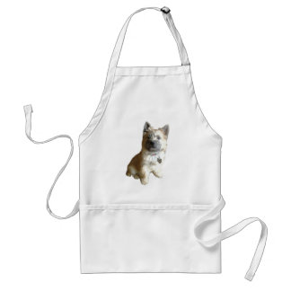 The Cutest Cairn Terrier Ever!  Cuter than Toto! Adult Apron