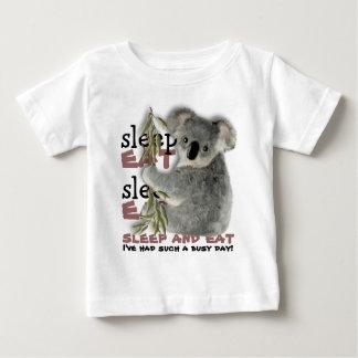 The Cutest Koala Eat And Sleep Baby T-Shirt