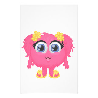 The cutest little monster! stationery