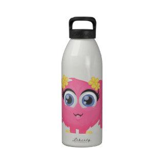 The cutest little monster! reusable water bottles