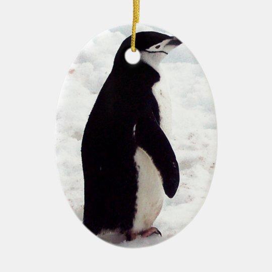 The Cutest Penguin, Ever Ceramic Ornament