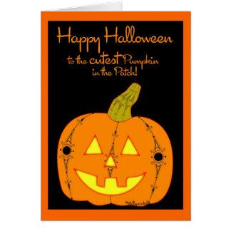 The Cutest Pumpkin Card