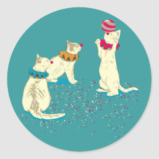 The Cutest Show on Earth Classic Round Sticker