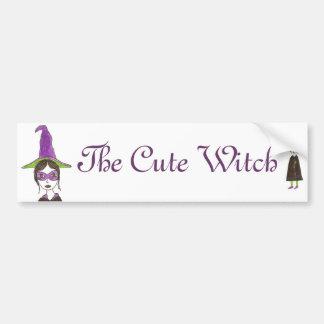 The Cutest Witch Bumper Sticker