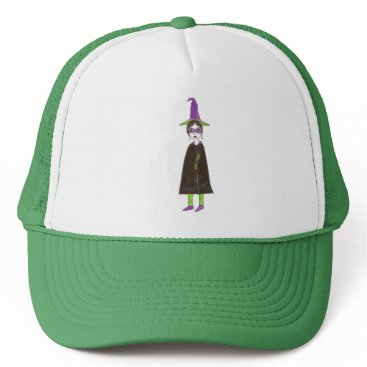 Halloween Themed The Cutest Witch Trucker Hat