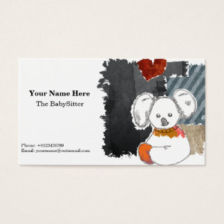 The Cutie Koala Business Card