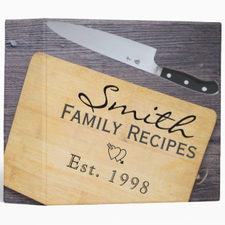 The Cutting Board Recipe Binder