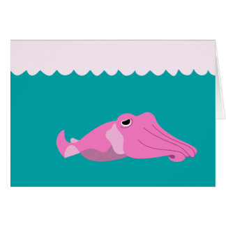 The Cuttle Fish Card