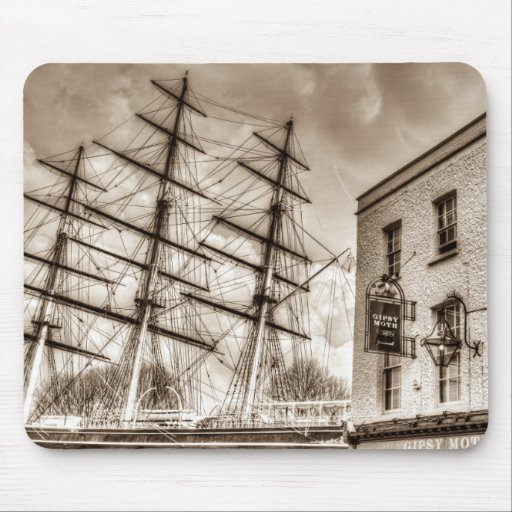 The Cutty Sark and Gipsy Moth Pub Greenwich Mouse Mats