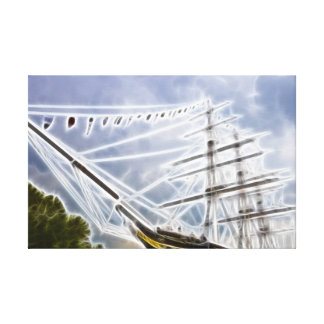 The Cutty Sark Stretched Canvas Prints