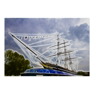 The cutty Sark Greenwich Posters