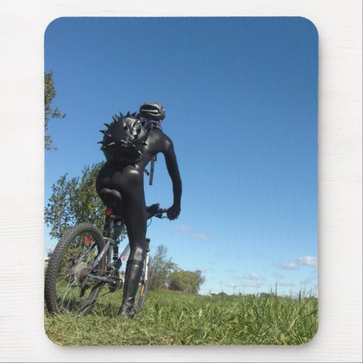 The Cyclist 2-3 Mousepad