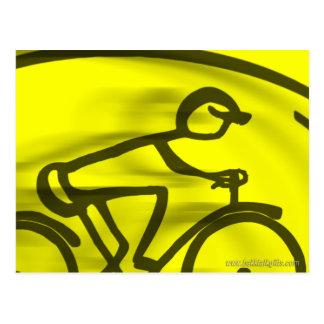 The Cyclist... Postcard