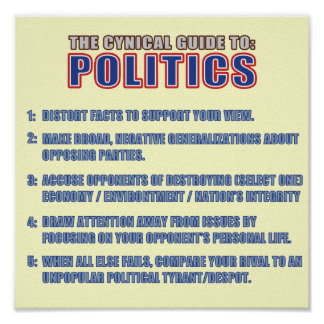 The Cynical Guide to Politics Poster
