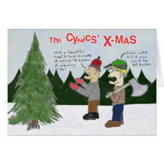 The Cynics' X-mas Card
