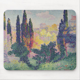 The Cypresses at Cagnes, 1908 Mouse Pad