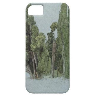 The Cypresses at the Villa d'Este, Tivoli (w/c & g iPhone SE/5/5s Case