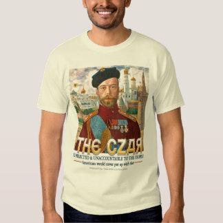 The Czar Tshirts