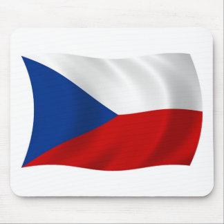 The Czech Republic Flag Mousepad