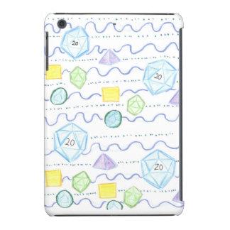 The D20 and the Dice rollers iPad Mini iPad Mini Cover