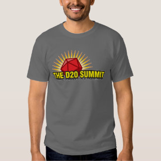 The D20 Summit Gaming Convention Tee Shirt