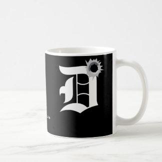 The D - Detroit Coffee Mugs