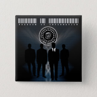 """The D.O.P. Freedom of Information 2"""" Square Button"""
