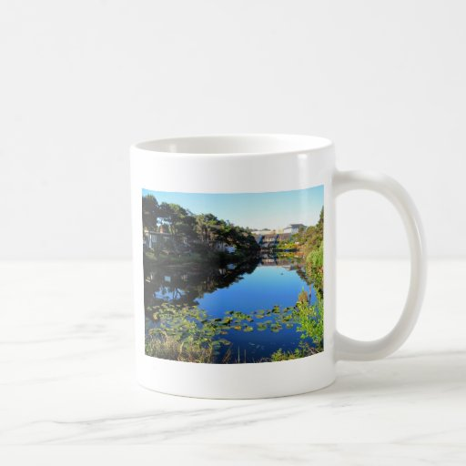 The D River in Lincoln City Coffee Mug