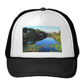 The D River in Lincoln City Trucker Hat