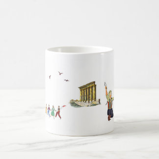 The Dabke Dance mug رقصة الدبكة