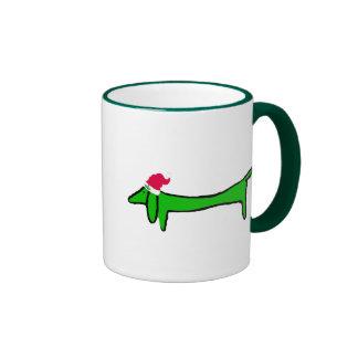 The Dachshund for Christmas Coffee Mug