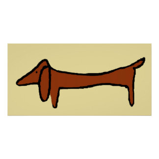 The Dachshund Poster