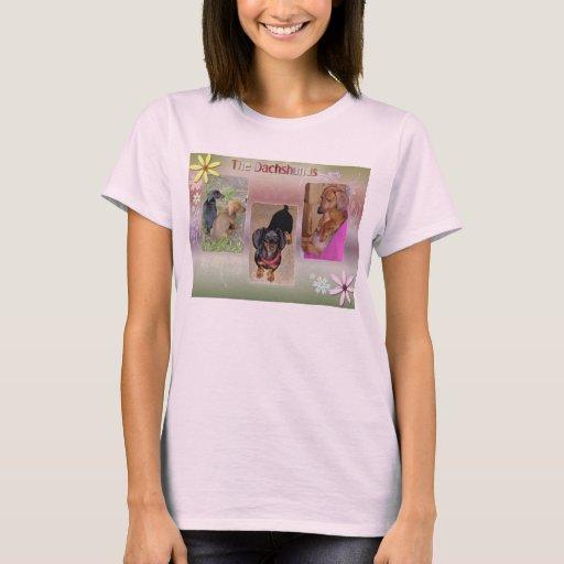 The Dachshunds ladies shirt
