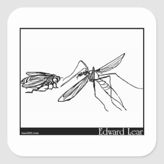 The Daddy Long Legs and the Fly Square Sticker