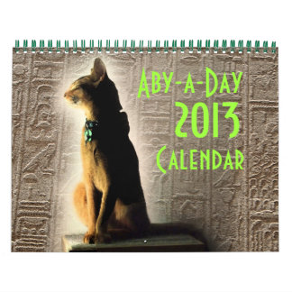 The Daily Abyssinian 2013 Calendar