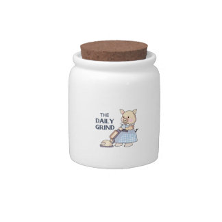 THE DAILY GRIND CANDY JARS