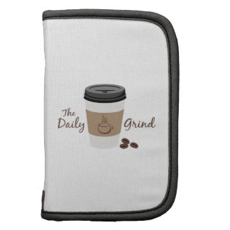 The Daily Grind Folio Planners