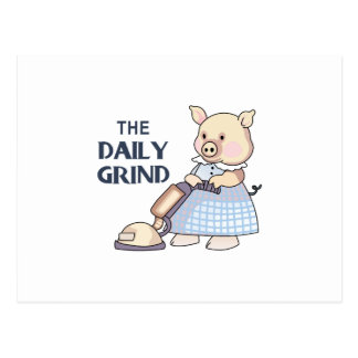 THE DAILY GRIND POSTCARD