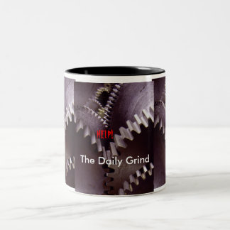The Daily Grind Two-Tone Coffee Mug